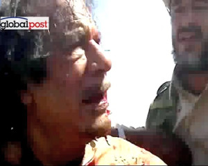 Capture of Muammar Gaddafi